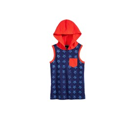 Epic Threads Little Boys Star Hooded Tank Top, Medieval Blue
