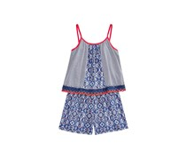 Epic Threads Popover Romper, Medieval Blue