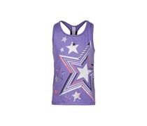 Ideology Little Girls Star-Print Tank, Positive Purple