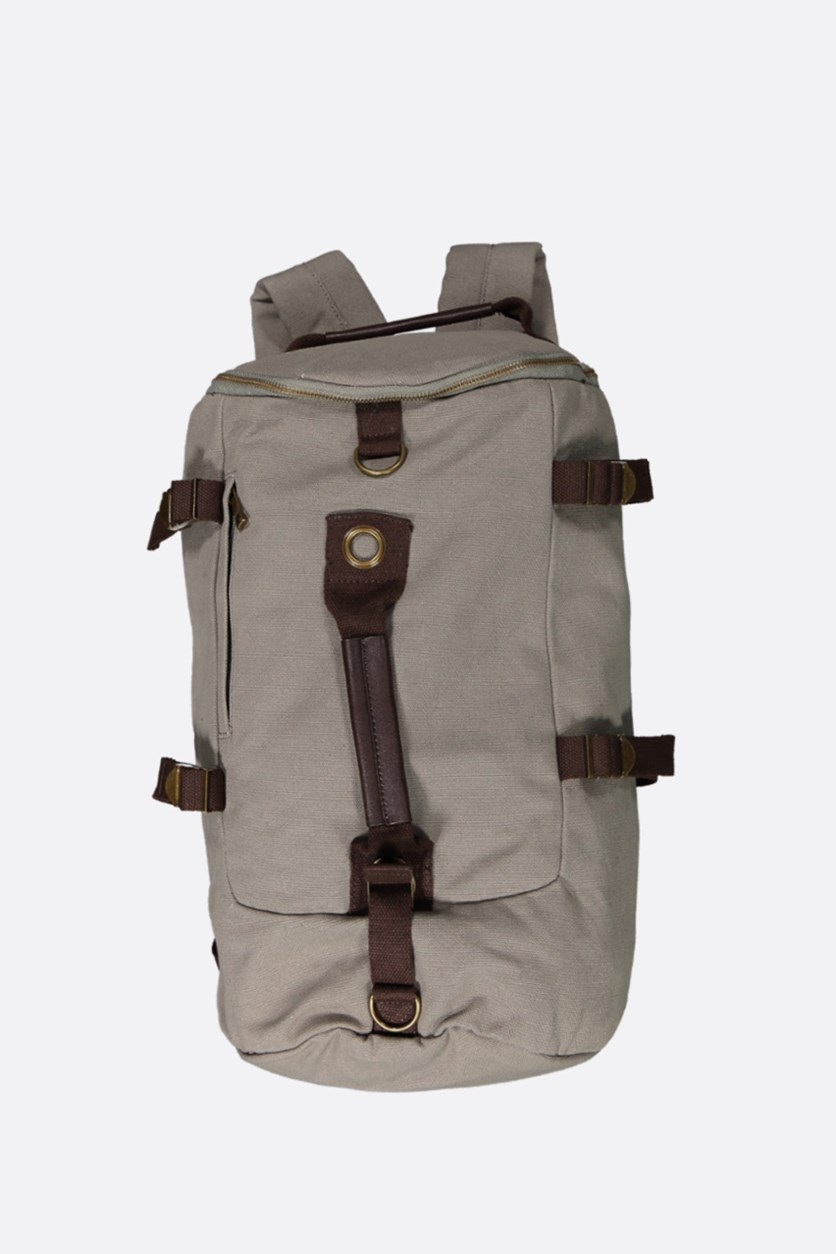 Men's Canvas Bag, Grey