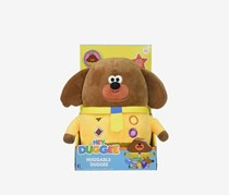 Jazwares Hey Duggee Feature Plush, Brown/Yellow