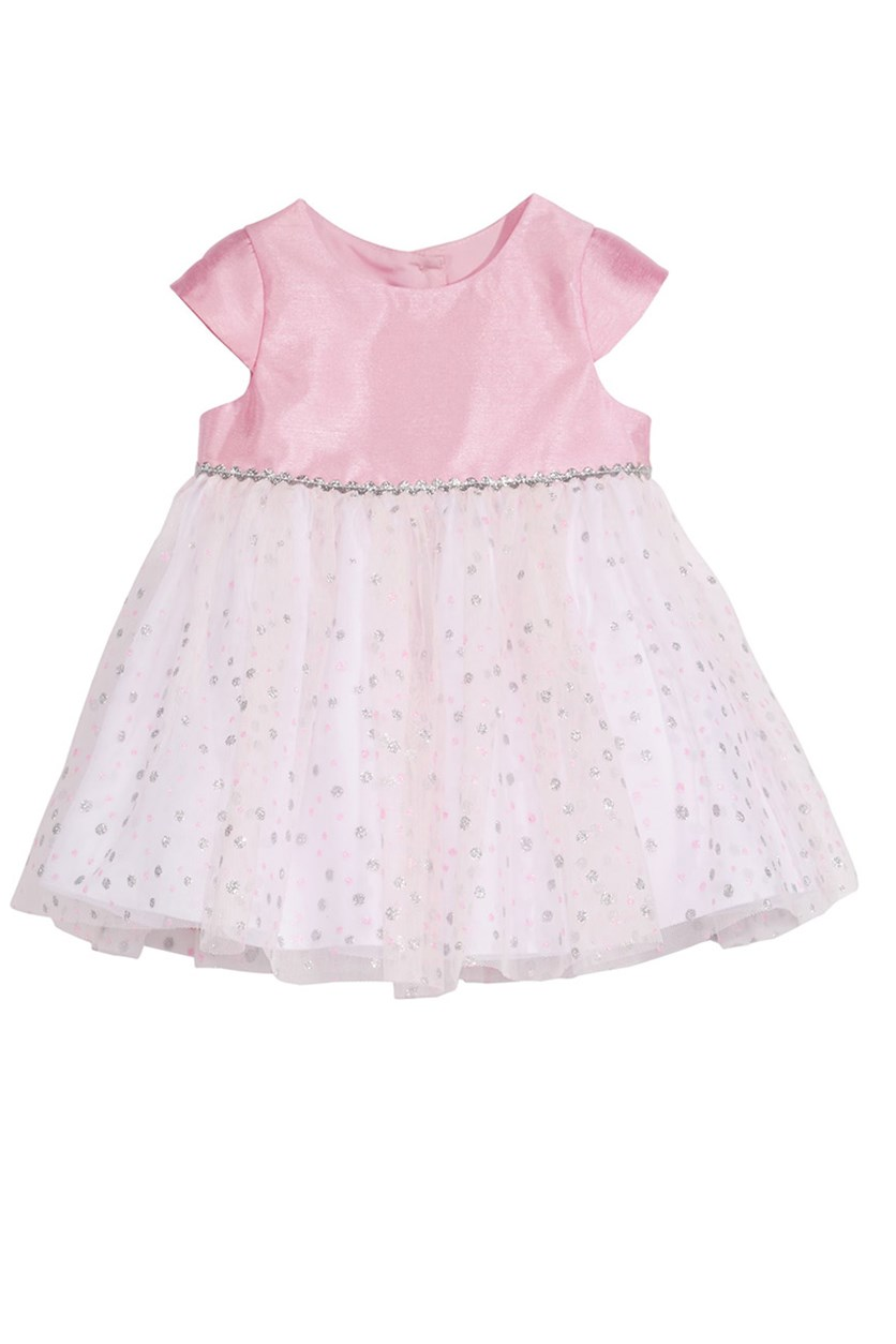 Baby Girls Sparkle Dress, Pink