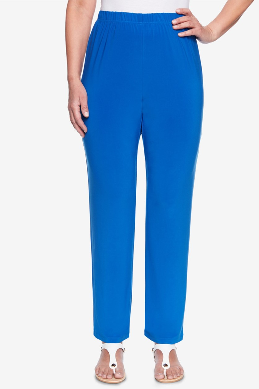 Royal Street Pull-On Pants, Royal Blue