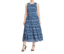 Ralph Lauren Sleeveless Maxi Dress, Blue