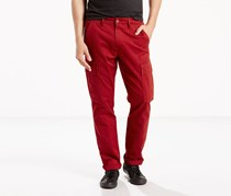 Levi's Men's Athletic-Fit Cargo Pants, Bordeaux