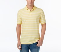 Club Room Men's Striped Polo, Yellow