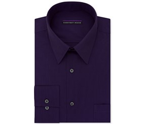 Geoffrey Beene Men's Classic-Fit Dress Shirt, Violet