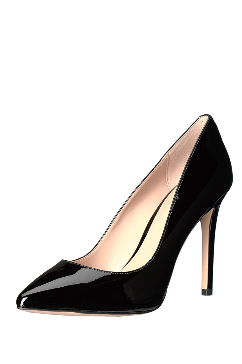 Women's Heidi Leather Pump, Black