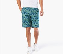 Dockers Men's The Perfect Shorts, Blue/Green Combo