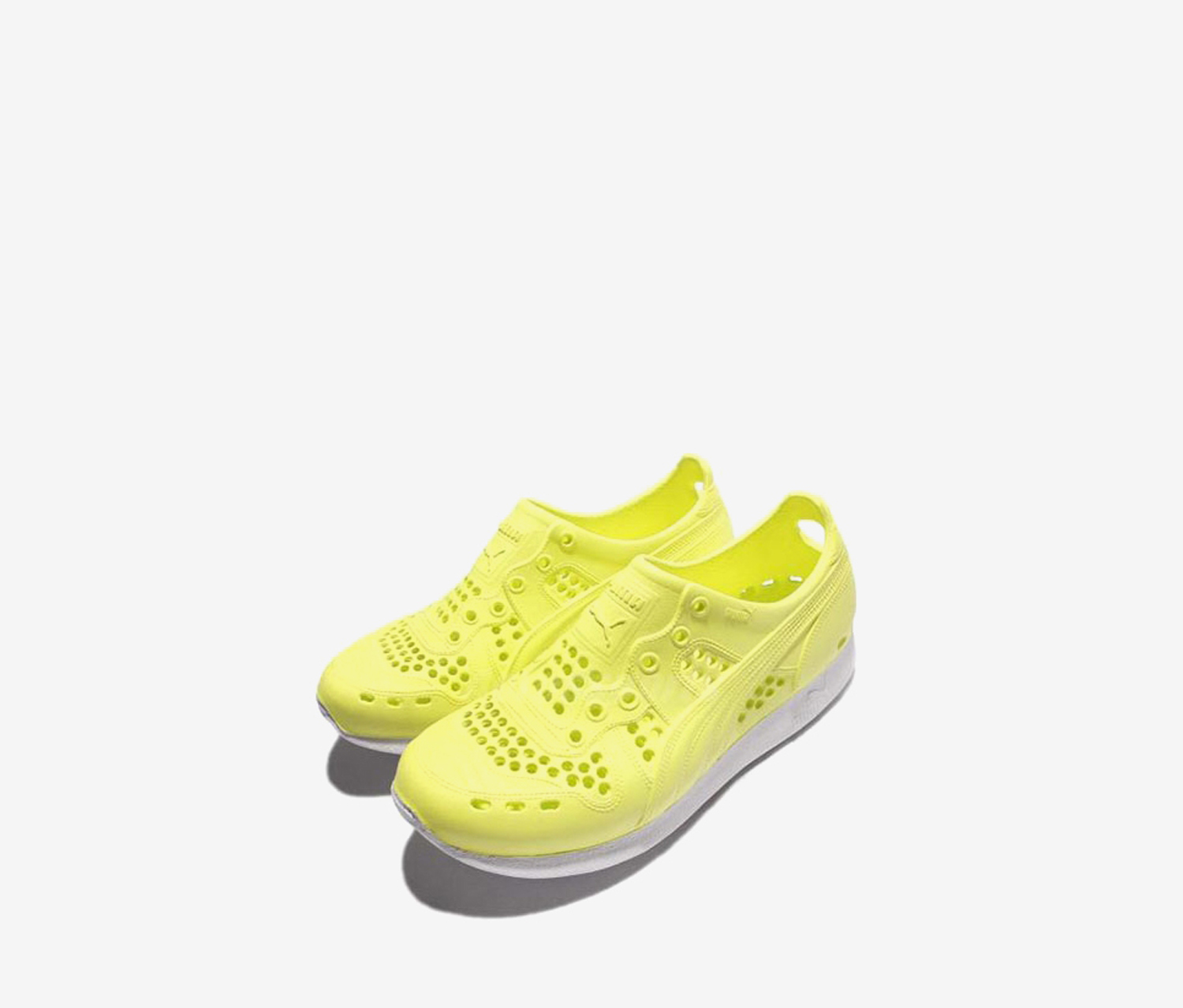 Puma Men's Rubber Shoes, Lime Green