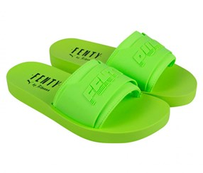 Puma Women's Slipper, Lime Green