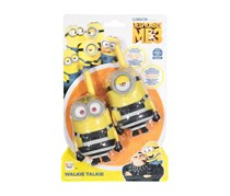 IMC Toys Despicable Me Walkie Talkies, Yellow/Black