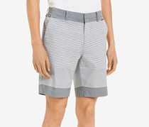 Calvin Klein Mens Slim-Fit Flat-Front Short, High Rise