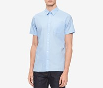Calvin Klein Men's Textured Shirt, Clear Sky