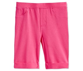 Epic Threads Mix & Match Roll-Cuff Bermuda Shorts, Pink