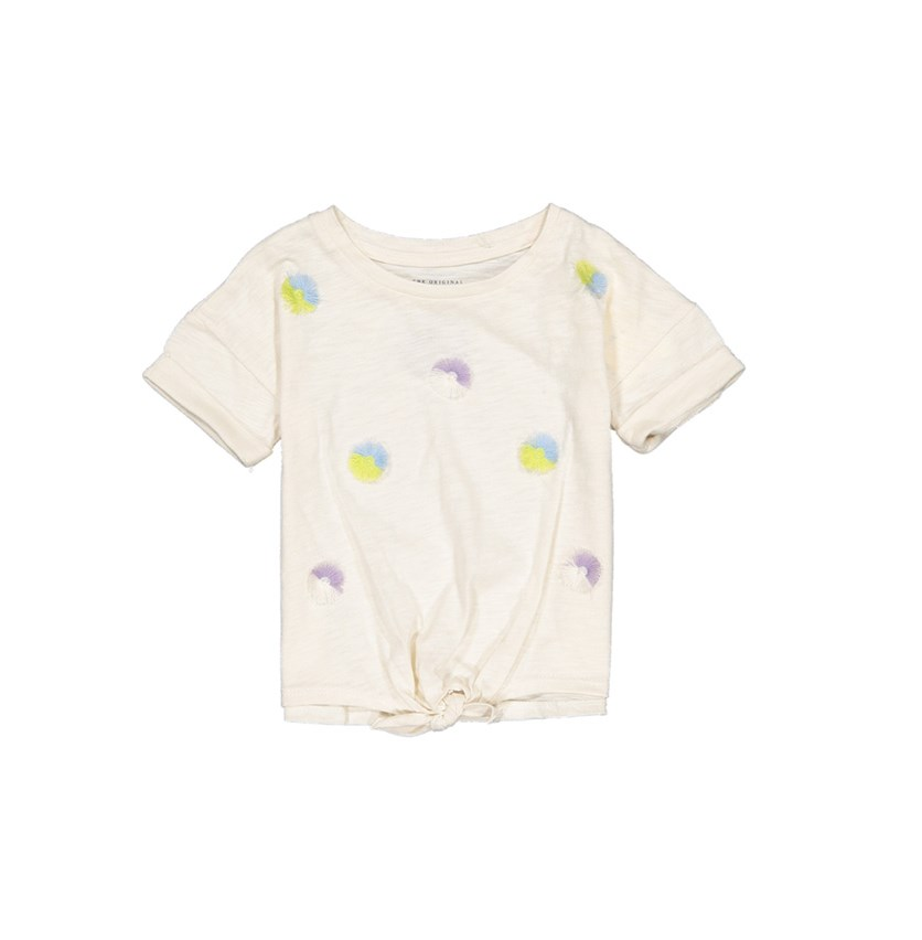 Toddler Girl's Top, Whisper White