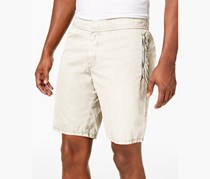 Dkny Men's Zipper Shorts, Marshmallow
