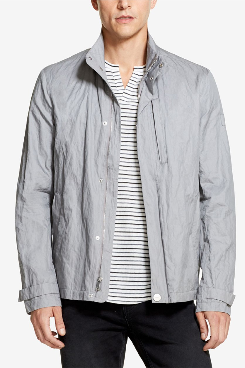 Men's Cotton Metal Jacket, Cloud Burst