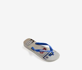 Havaianas Men's Slipper, Blue/White
