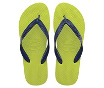 Havaianas Women's Slipper, Navy/Green