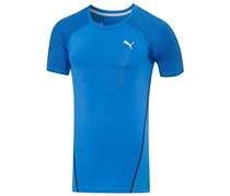 Puma Men's Round Neck T Shirt, Blue