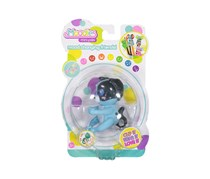 Toy Box Tekno Moodies Pupi Virtual Pet Battery Operated, Blue/Black