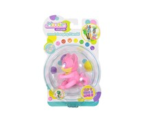 Toy Box Tekno Moodies Kiti Virtual Pet Battery Operated, Pink/Yellow