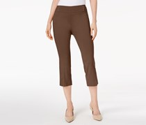 Jm Collection Embellished Pull-On Capri Pants,  Red Maple