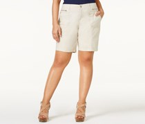 Style & Co Plus Size Relaxed Shorts, Stonewall