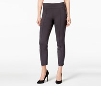 Style & Co Skinny Pull-On Ankle Pants, Carbon Grey