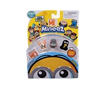 Minions Mineez Yard Dog & Luau Kyle Mini Figure 3-Pack, Grey/Beige
