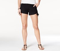 American Rag Ruched-Side Shorts, Black