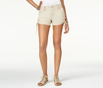 American Rag Women's Ruched-Side Shorts, Tan
