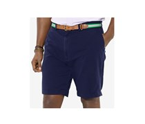 Polo Ralph Lauren Big and Tall Classic-Fit Flat-Front Short, Aviator Navy