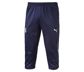 Puma Boy's Italy 3/4 Shorts, Navy