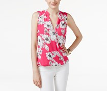 Inc International Concepts Floral-Print Surplice Top, Floral Synthesis