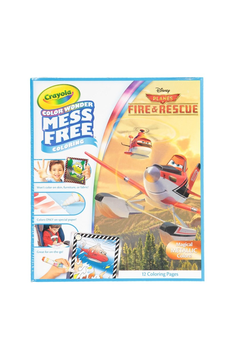 Color Wonder Disney Fire & Rescue, White Blue