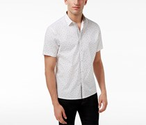 Inc International Concepts Men's Printed Shirt, White