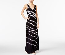 Inc International Concepts Tie-Dyed Maxi Dress, Black