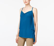 Inc International Concepts Draped-Back Top, Blue