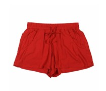 French Connection Women's Drawstring Shorts, Red