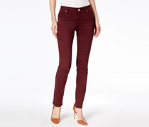 International Concepts Curvy-Fit Skinny Jeans, Port