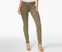 Inc International Concepts Tikglo Wash Skinny Jeans, Olive Drab