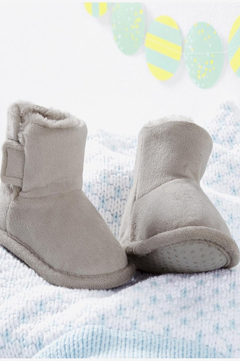 Baby Girls Shoes, Grey