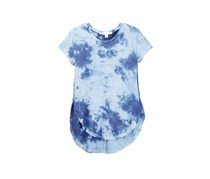 C&C California Big Girls Tie Dye Tee, Navy