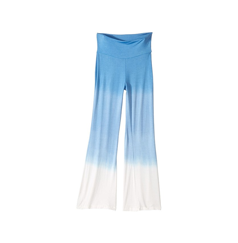 Kids Flared Pants, Sea Blue