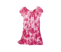 C&C California Big Girls Tie Dye Dress, Rasberry