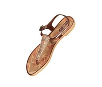 Women Grendha Romantic II Sandals, Bronze/Beige