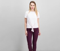 Dylan Gray Crepe Top, Pink
