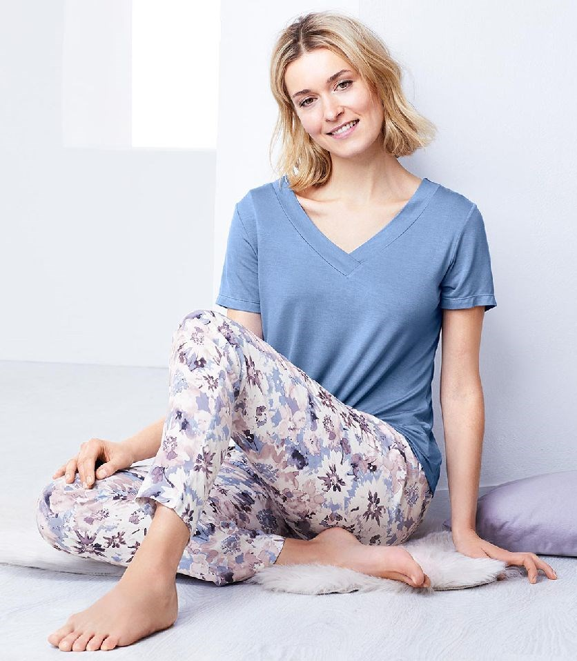 Women's Pajamas Set Of 2, Blue